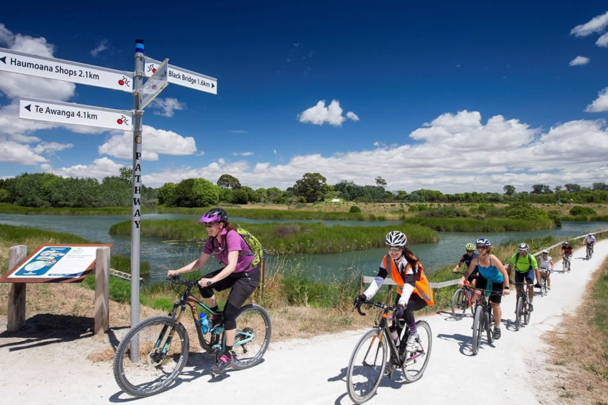 Hawke's Bay Cycle Paths